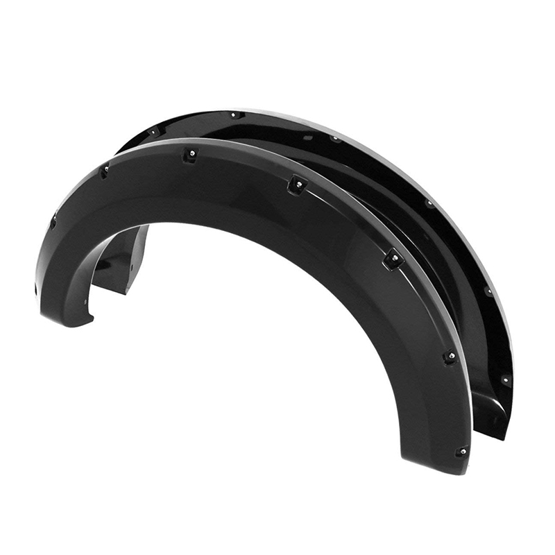Ford F150 2004-2008 ABS Pocket Rivet Style Wheel Well Body Fender Flares Trim