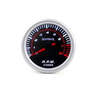 2'' 52mm 0-8000 Auto Gauge Tachometer With LED Light RPM Meter Universal Car Meter